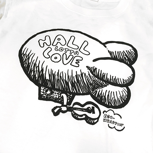 HALL LOTTA LOVE 2020 Tシャツ【WHITE】